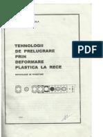 Indrumar Proiect Tehnologii de Deformare La Rece