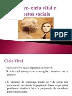 Velhice Ciclo Vital e Aspetos Sociais