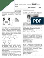 Lista 001 - Processos de Eletrização marlon