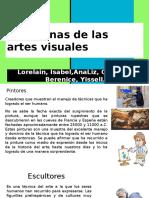 Disciplinas de Las Artes Visuales