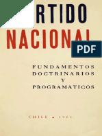 Fundamentos doctrinarios y programáticos PN