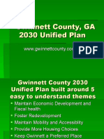 Gwinnet County GA - 2030 Unified Plan