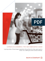 BAIN REPORT China Ecommerce the New Branding Game