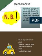 Accentul, Punctuatia Mediu on-line
