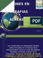 Mediciones en Fotografias Aereas