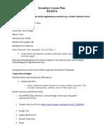 Lesson Plan 3-01-2016