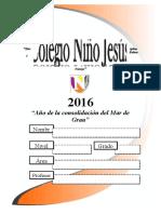Caratula Colegio Niño Jesus