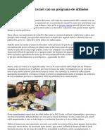 Ganar dinero en Internet con un programa de afiliados Forex