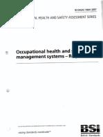OHSAS 18001 (2007)