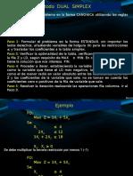 Metodo Dual - Simplex