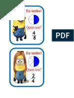 Jogo de Frações- Minions