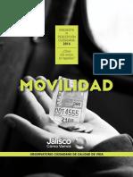 Estudio de percepción ciudadana sobre  movilidad la Movilidad