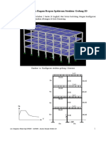 Analisis Dinamik Spektrum Respon Struktur Gedung 2d (Kuliah Gempa - Nop 2013)