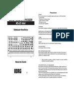 Ms20mini Manual