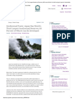Geothermal Power_ Japan Has World's Third Largest Geothermal Reserves, 60 Percent of Which Can Be Developed _ Japan for Sustainability