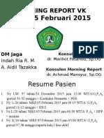 Morning Report 04-05 Februari 2015