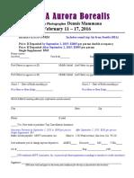 ALASKA 2015- Application