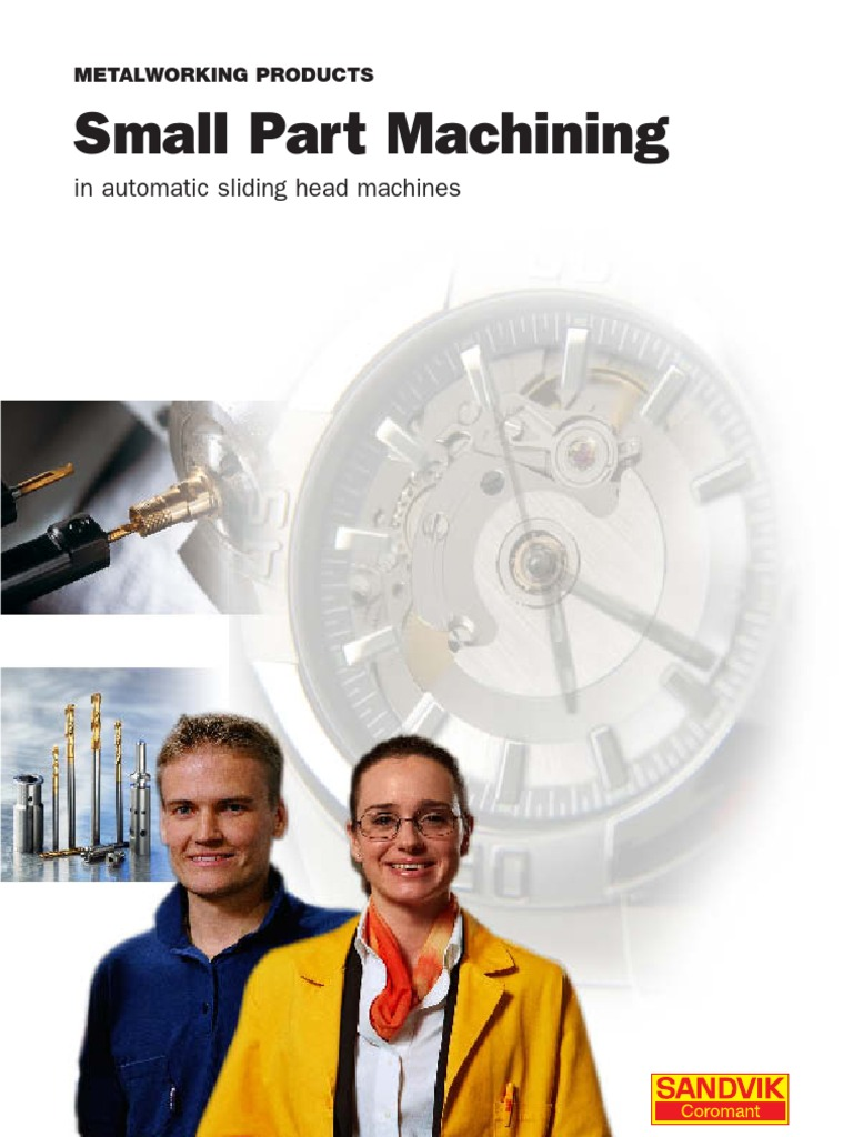 Catalogo Sandvik | Screw | Machining