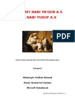 Biografi Nabi Yaqub as Dan Nabi Yusuf As