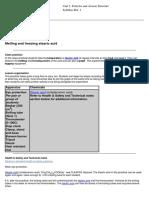 2. Melting and Freezing Stearic Acid