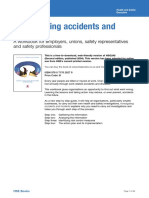 HSE HSG 245 Investigation Accidents 2011