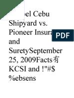Keppel Cebu Shipyard Vs