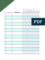 Quilt Project Sheet