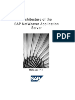 Architecture of the NetWeaver Application Server 7.1