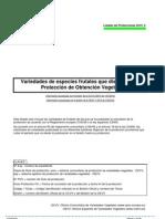 Lista de Protecciones TOV_2010_2