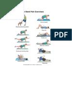 Back Pain Xcercises
