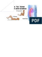 Lbp and Sciatica Relief Exercises