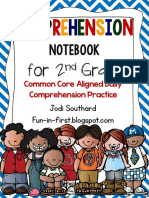 daily comprehension notebook 2nd