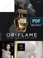 Catalogue My Pham Oriflame 3-2016