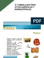 Envases y Embalajes Para Productos Agroindustriales