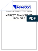 Market Analysis of Iron Ore