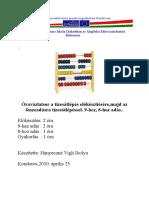 085_Matematika Elso Osztaly Oravazlatok