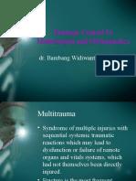 Damage Control Orthopaedics Dr Bambang SpOT (Salinan Berkonflik Enggar Yusrina 2015-10-14)