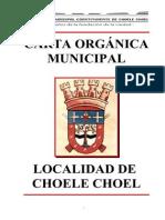 Carta Orgánica Municipal 2010