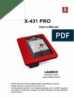 X431 Pro User Manual En