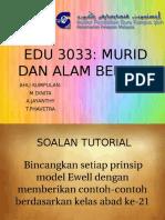 Prinsip – Prinsip Pembelajaran Ewell (1997)