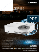 Casio Core Series Laser & LED Hybrid Lamp-Free DLP Projectors