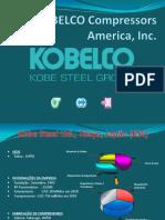 Compressores de Parafuso KOBELCO - Versao 2012