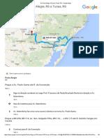 Mapa de Porto Alegre, RS Para Tunas, RS - Google Maps