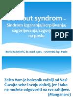 Burnout Syndrom - Sindrom Izgaranja Sagorijevanja Na Poslu 160228
