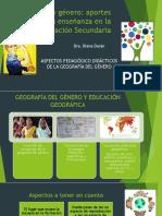 Geografía Del Género_enseñanza