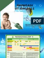 9. Jadwal Imunisasi IDAI 2011