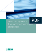 USHIO UV SysteaAsAms - From Lamps to Power Supplies and Electrics En