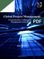 Global Project Management-Binder, Jean.