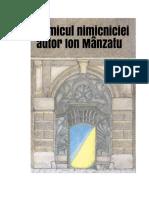 Comicul nimicniciei, autor Ion Mânzatu