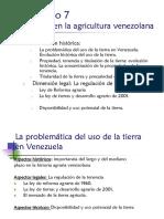 Obj 7 La Tierra en La Agricultura Venezolana
